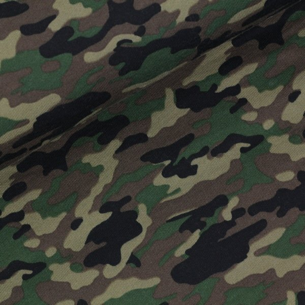 Sweat Camouflage grün
